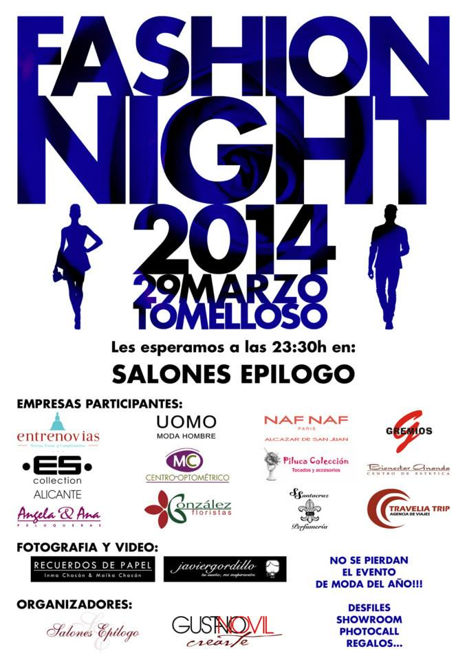 Fashion Night 2014 Tomelloso
