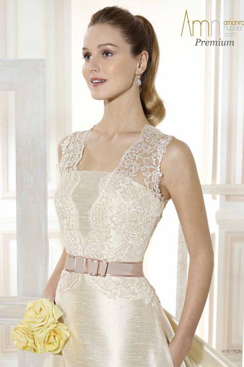 Vestido de Novia Amanecer Nupcial Modelo Pizin
