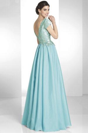 Vestido de madrina fiesta manila modelo libano 1