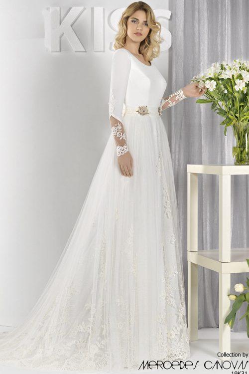 Vestido Novia Amanecer Nupcial Modelo 19K31A