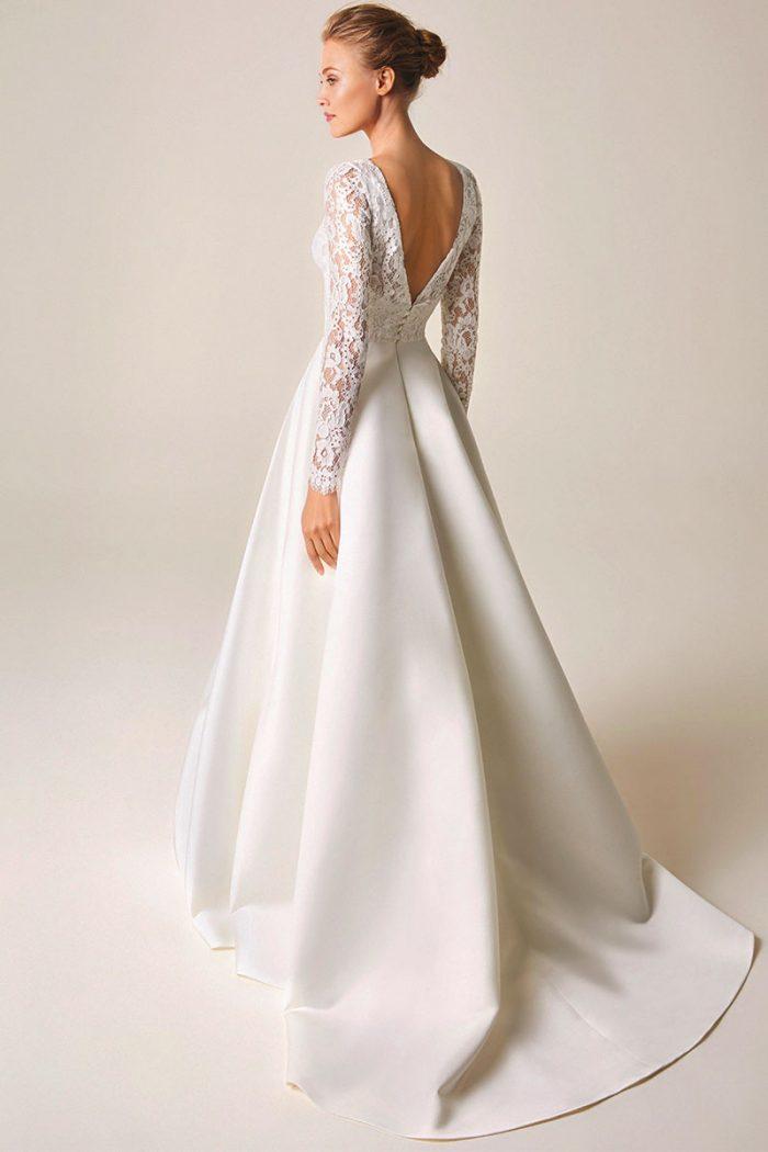 Vestido Novia Jesus Peiro modelo 954 b