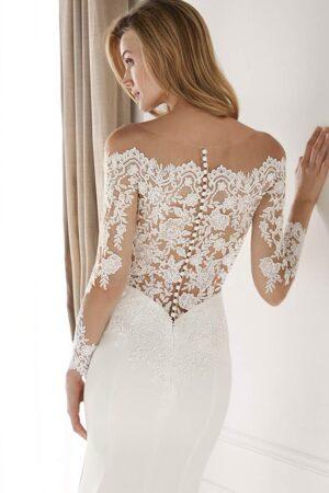 Vestido Novia Nicole spose modelo NIA20491 d