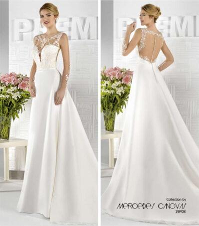 Vestido de Novia Amanecer Nupcial Modelo 19P08B