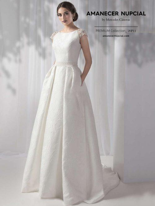 Vestido de Novia Amanecer Nupcial Modelo 20P11 1