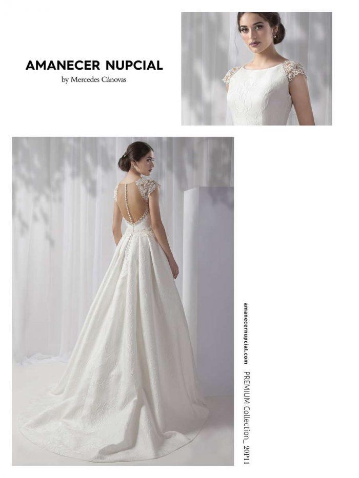 Vestido de Novia Amanecer Nupcial Modelo 20P11 2