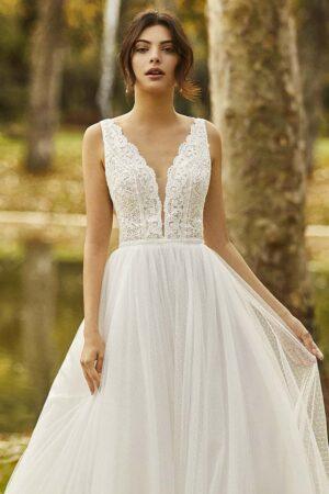 Vestido novia alma novias modelo ongile c