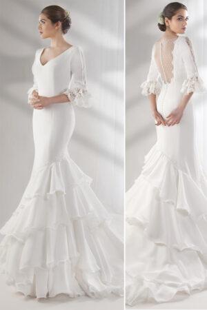 Vestido novia amanecer nupcial modelo dreams 20d28 b