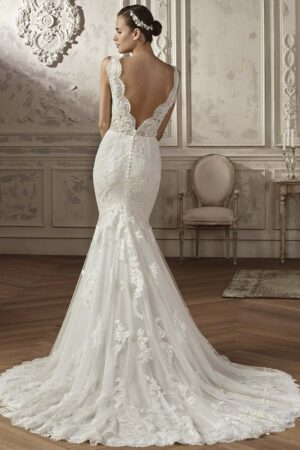 Vestido novia san patrick modelo anade b