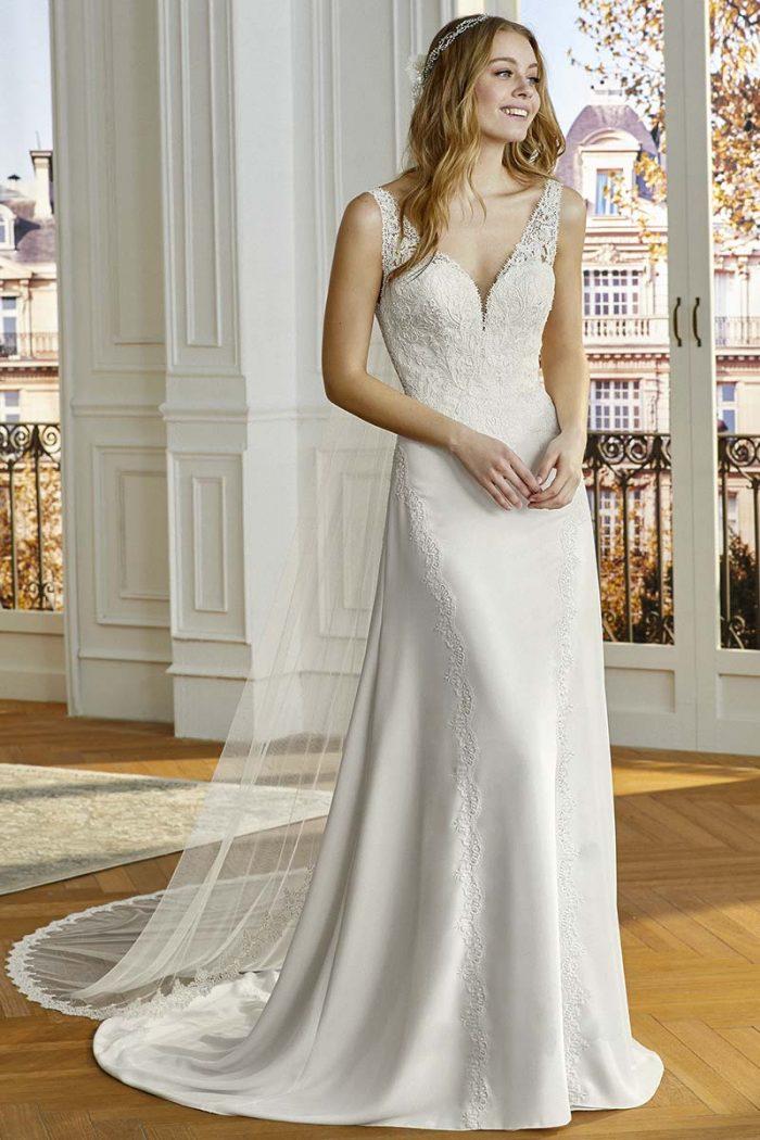 Vestido novia san patrick modelo compoint