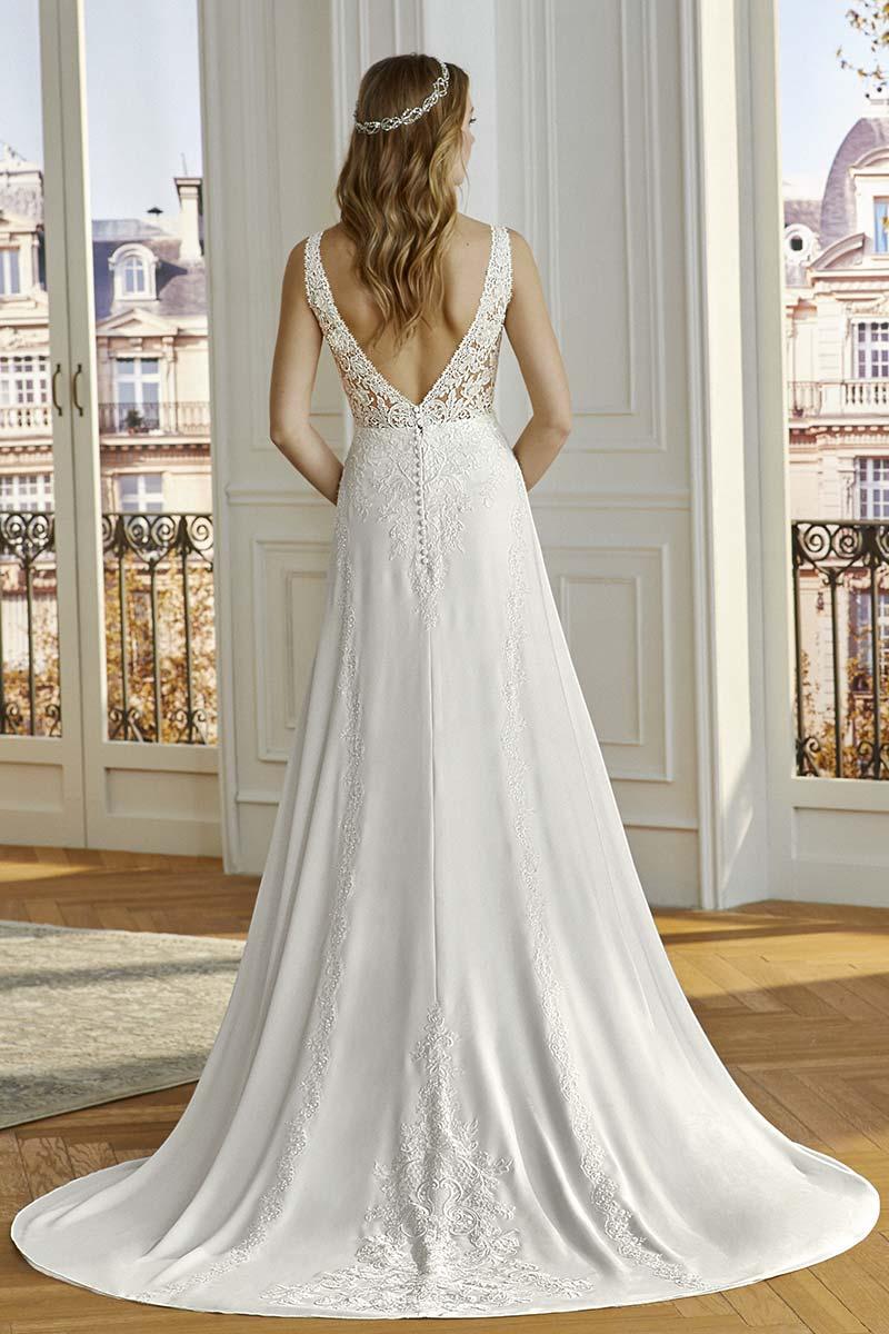 Vestido novia san patrick modelo compoint b