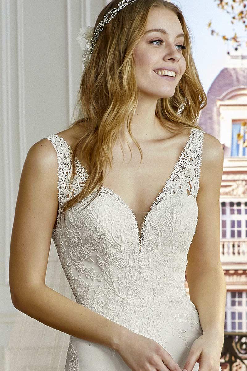 Vestido novia san patrick modelo compoint c