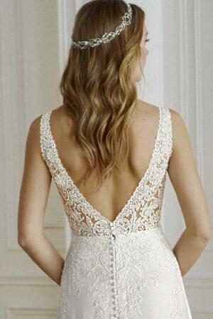 Vestido novia san patrick modelo compoint d