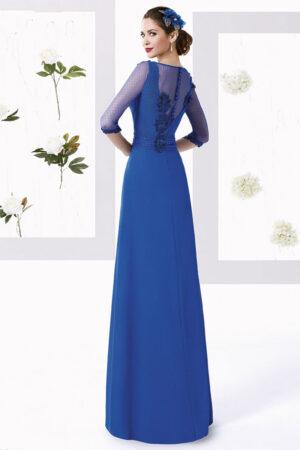 vestido madrina tul sedoso manila modelo diagonal 1
