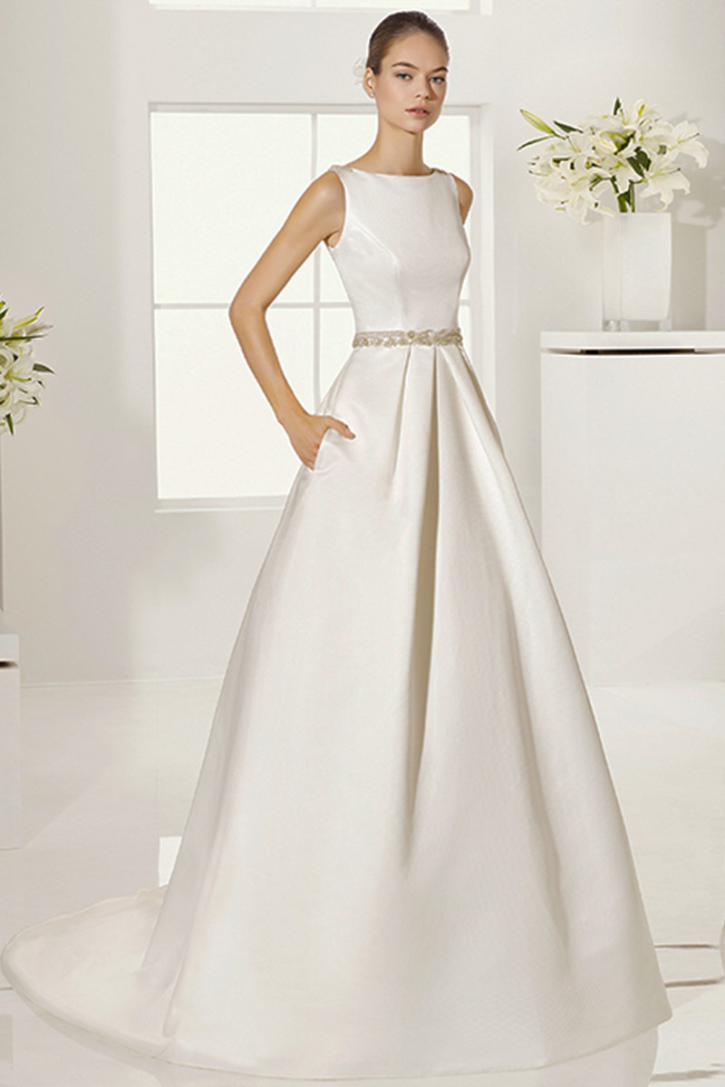 vestido novia alma novias modelo gabela b
