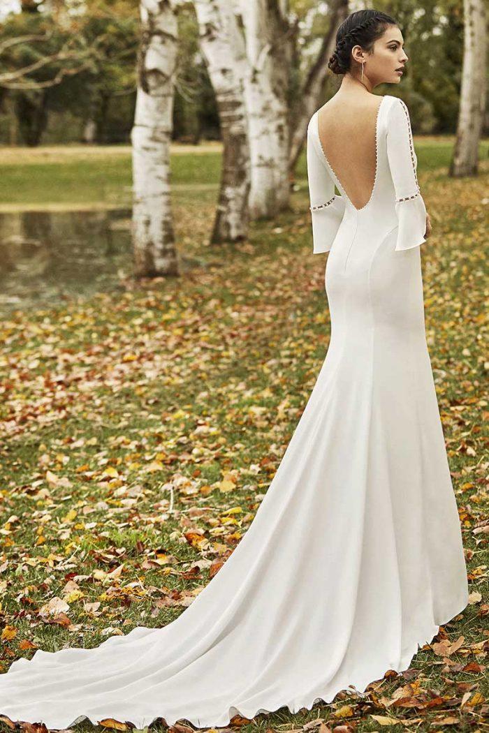 vestido novia alma novias modelo odisea c