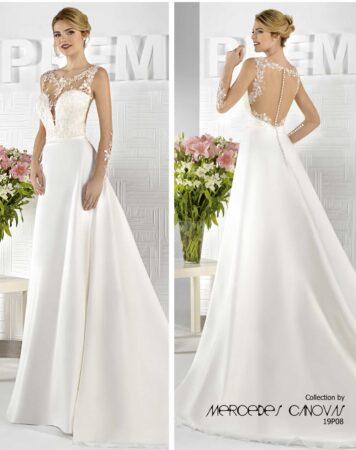 vestido novia amanecer nupcial modelo 19P08A 1