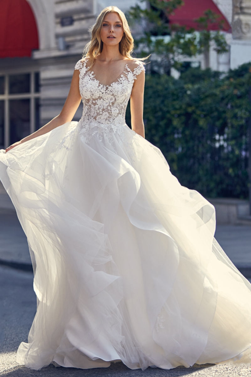 vestido novia san patrick modelo love b