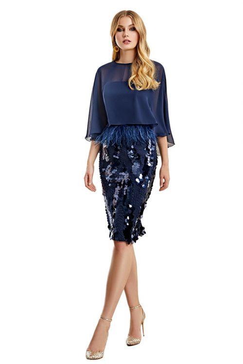 Vestido Madrina Esthefan Modelo NOLAY