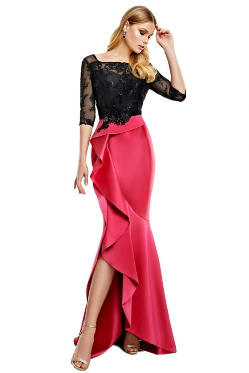 Vestido Madrina Esthefan Modelo NUCAREN