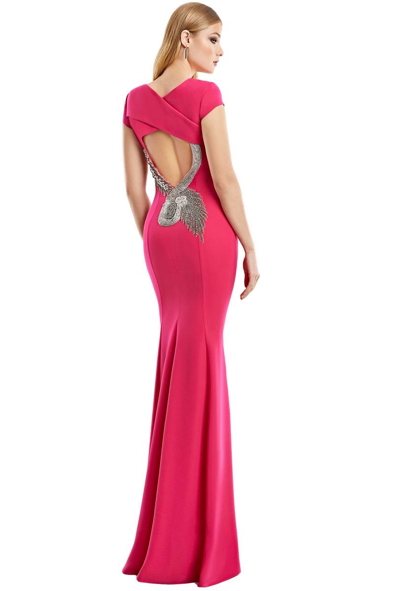 Vestido Madrina Fiesta Esthefan Modelo Nocalas