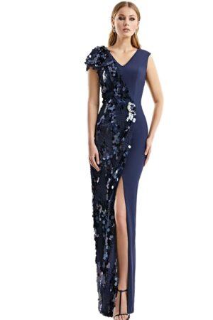 Vestido Madrina Fiesta Esthefan Modelo Noriega 1