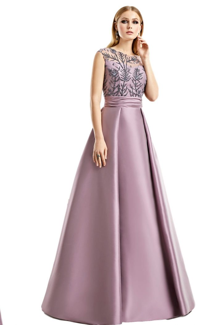 Vestido Madrina Fiesta Esthefan Modelo Norte 1