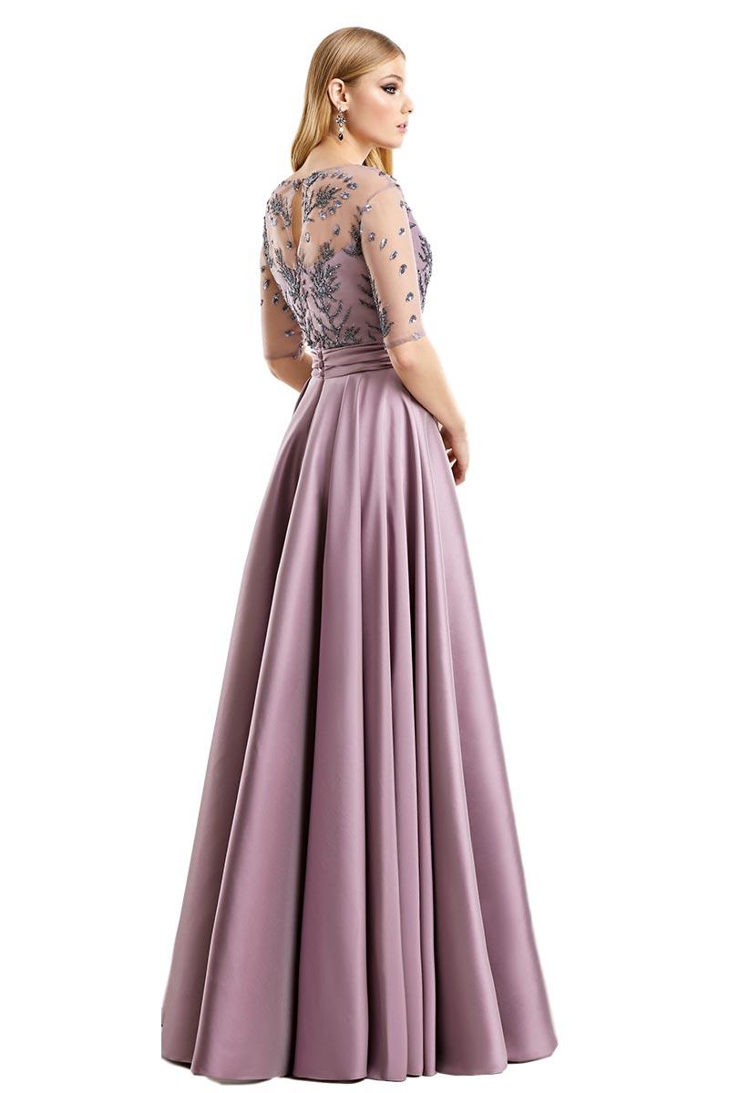 Vestido Madrina Fiesta Esthefan Modelo Norte