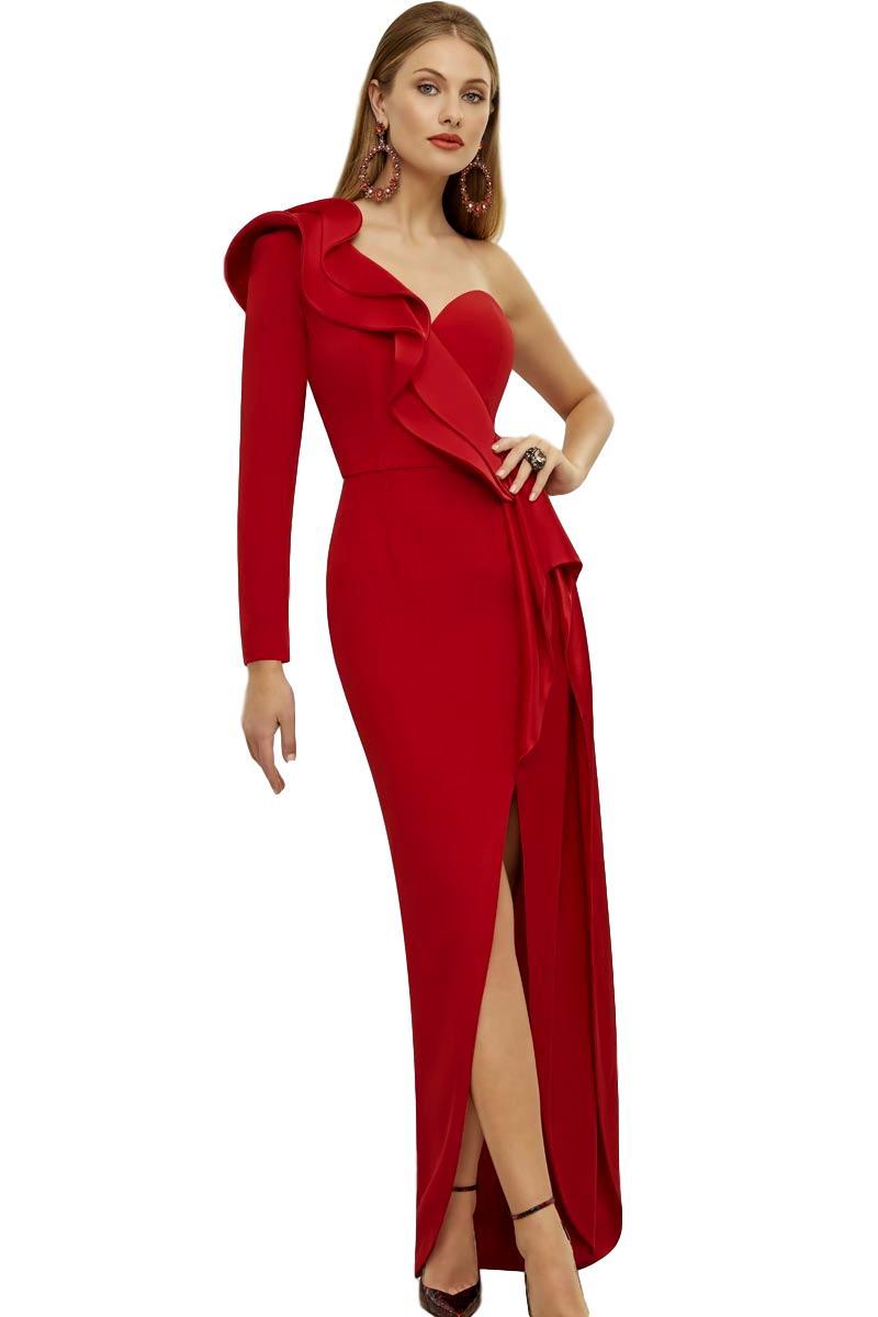 Vestido Madrina Fiesta Ronald Joyce Modelo 29415