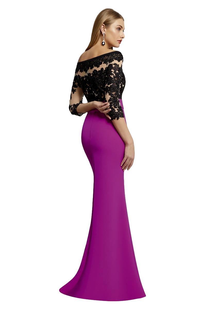 Vestido Madrina Fiesta Ronald Joyce Modelo 29416 a