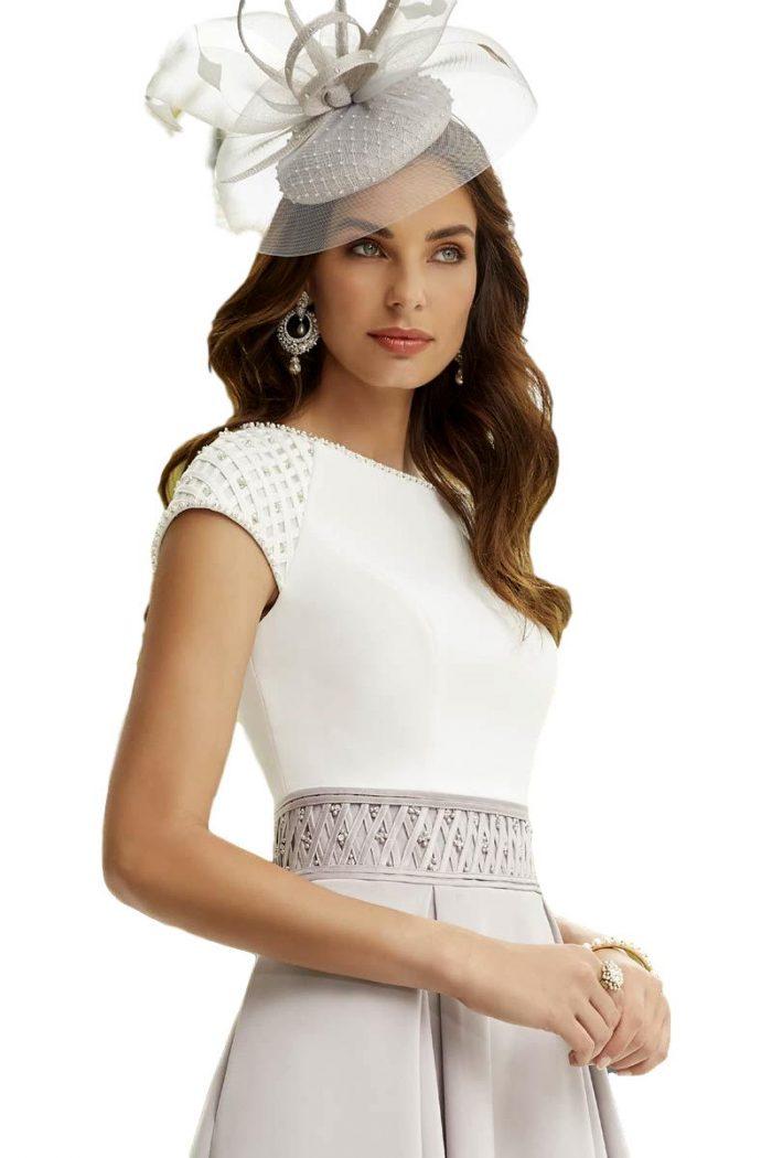 Vestido Madrina Fiesta Ronald Joyce Modelo 29462 a