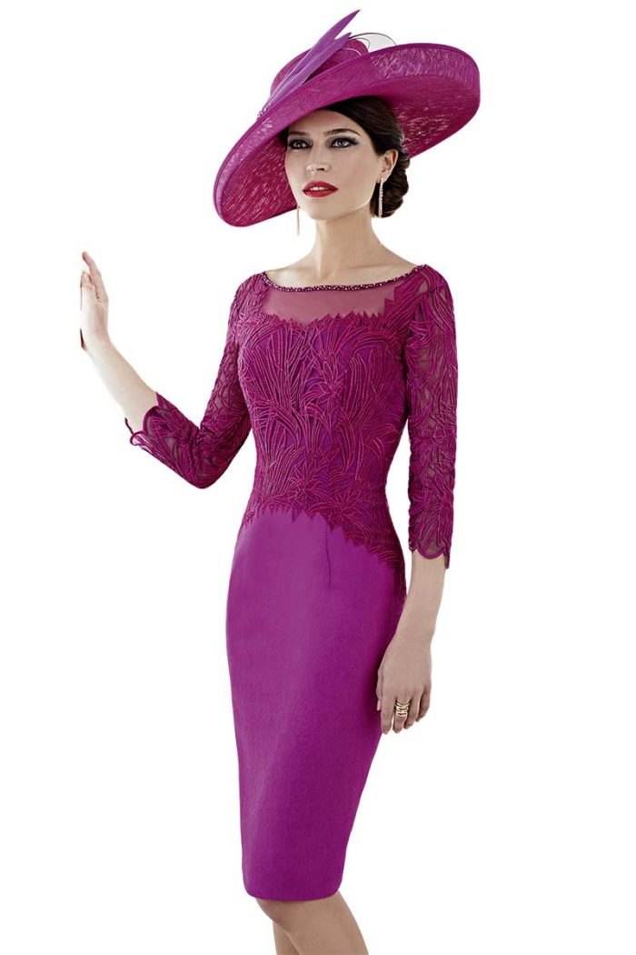 Vestido corto de madrina fiesta zeila modelo 3020689 406