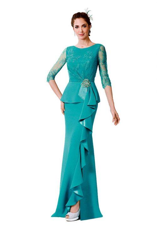 Vestido de Fiesta Madrina Manila Modelo CLAMOR A