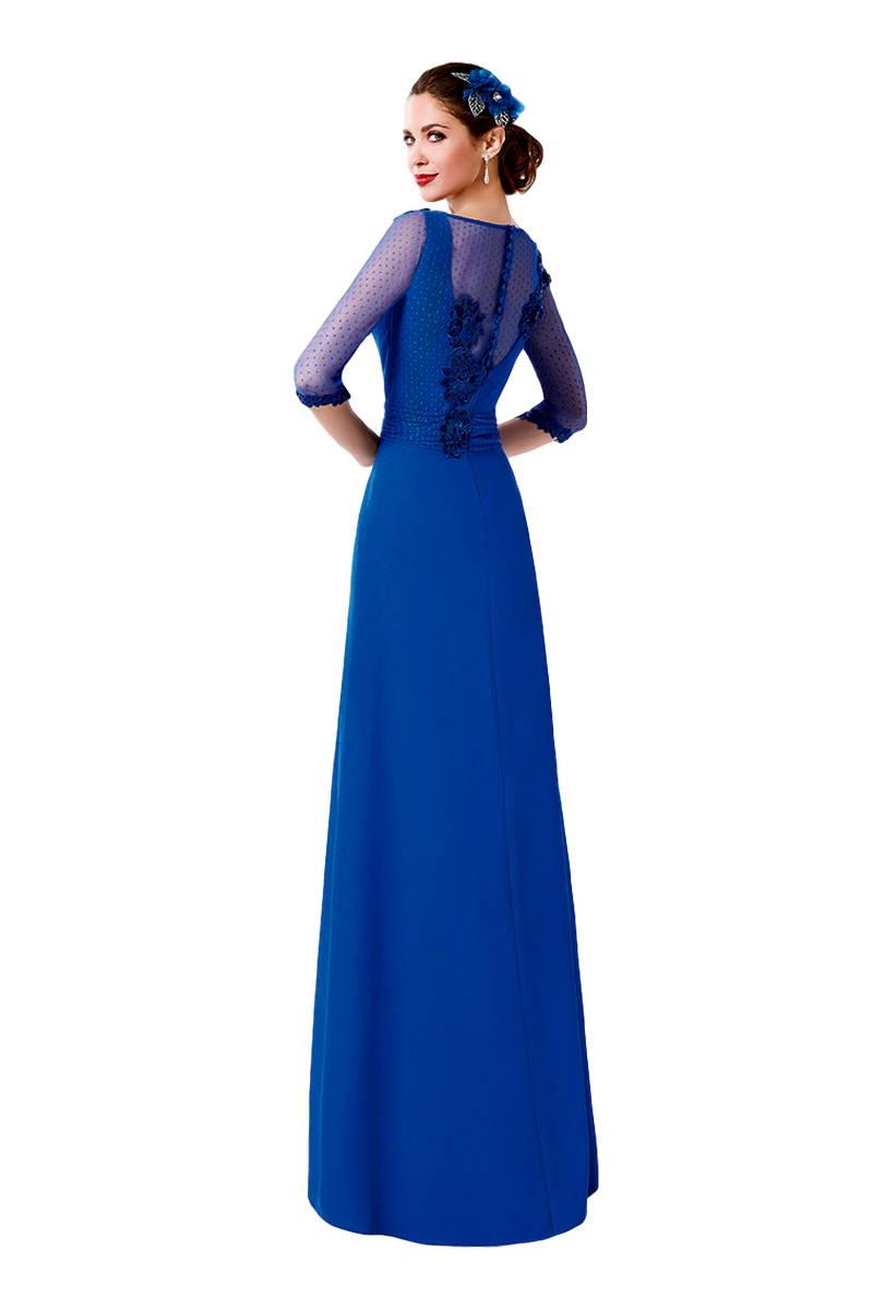 Vestido de Fiesta Madrina Manila Modelo DIAGONAL B 1