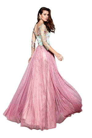 Vestido de Fiesta Madrina Manila Modelo MECHA 2