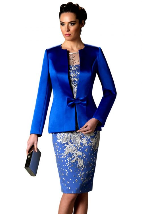 Vestido de Madrina Esthefan modelo Judaras1