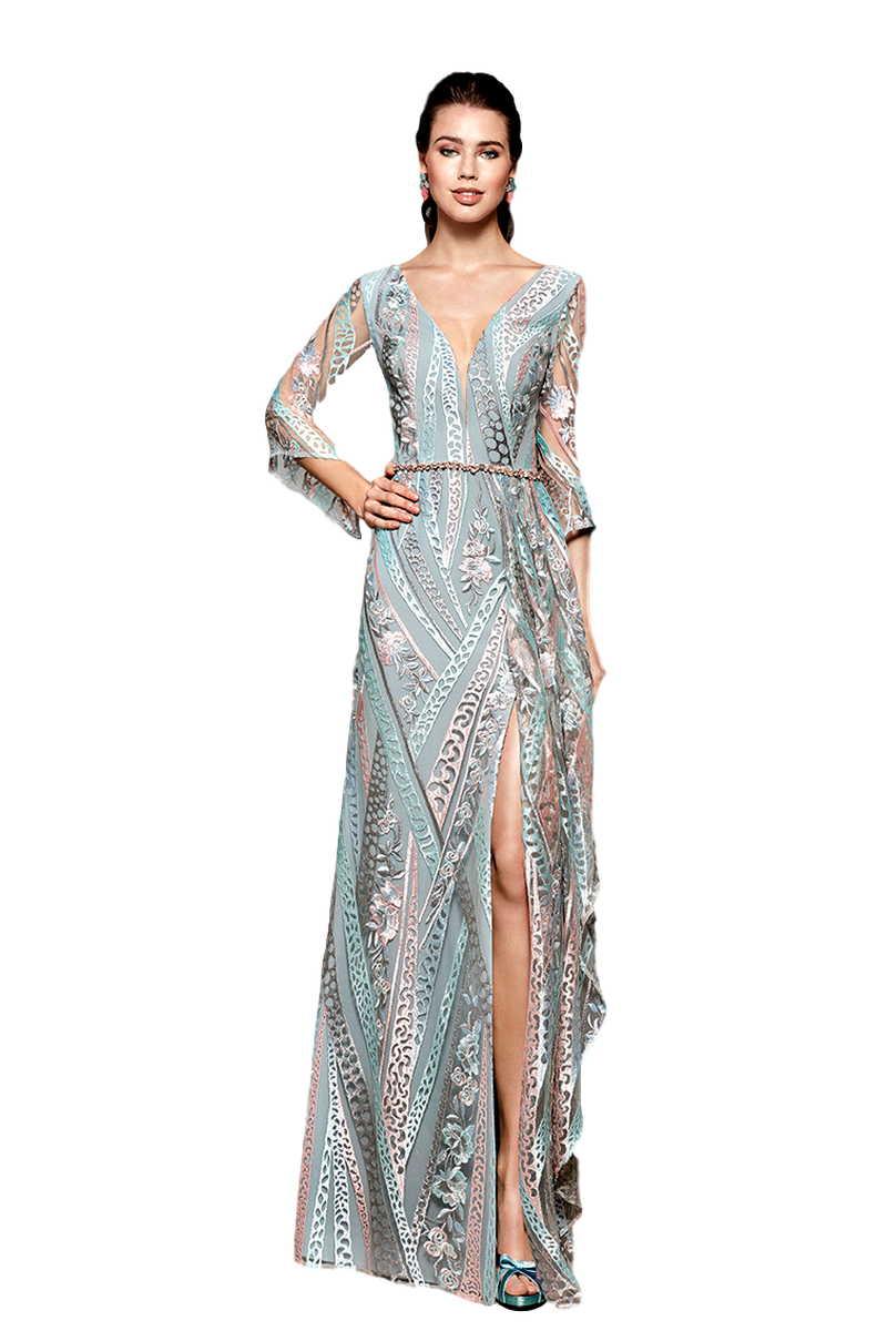 Vestido de Madrina Fiesta Manila Modelo IMPULSO