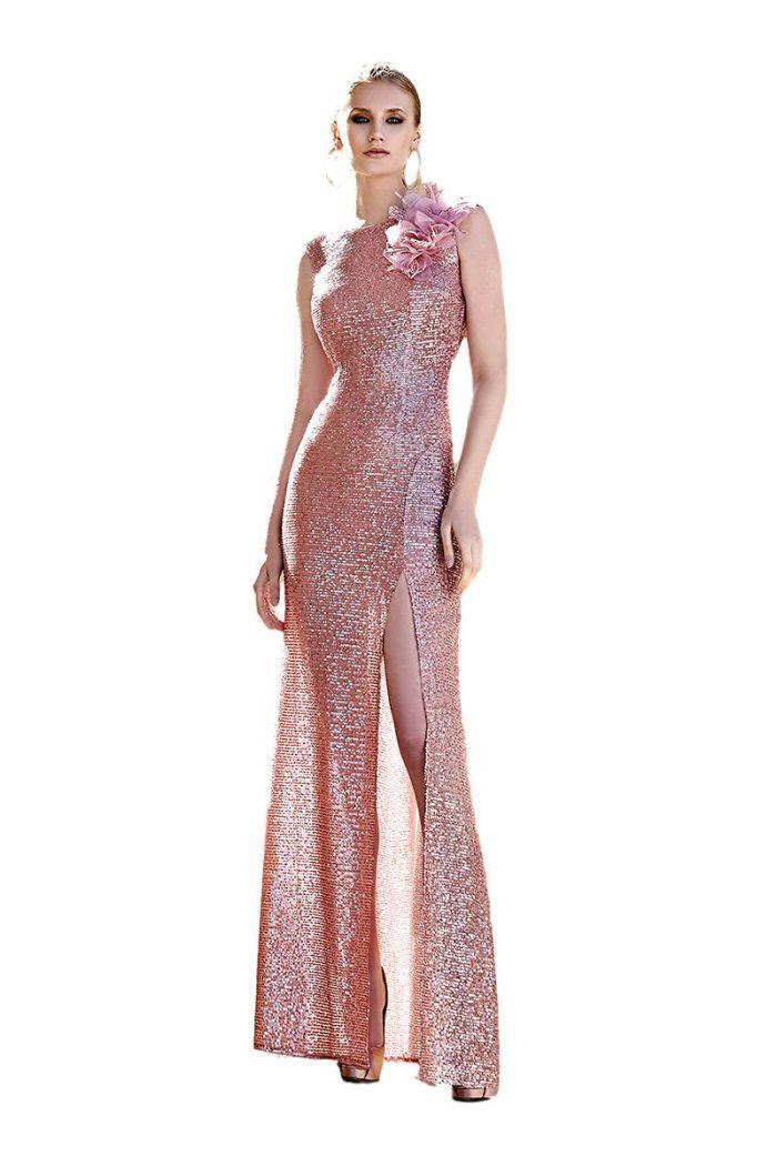 Vestido de fiesta Sonia Pena Modelo 0038·1200124 vestidochal1200124A vestido