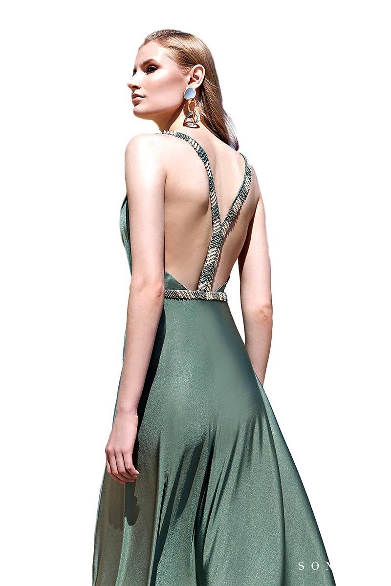 Vestido de fiesta Sonia Pena Modelo 0041·1200111 vestidochal1200111A vestido