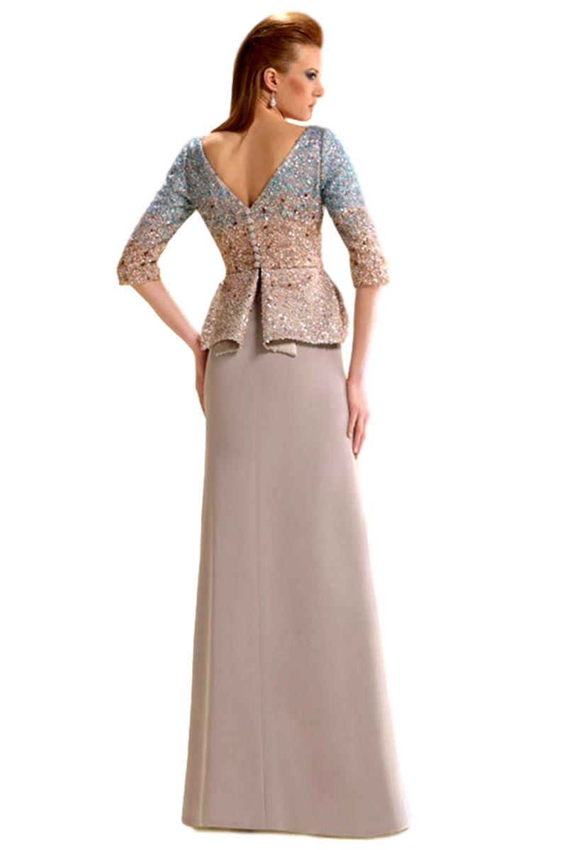Vestido de madrina esthefan modelo boleo 013