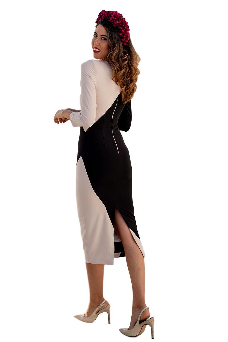 Vestido de fiesta blanca martin modelo vestidojulia3