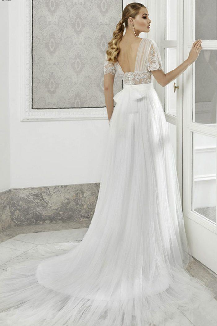 Vestido Novia Esthefan modelo Amapola b