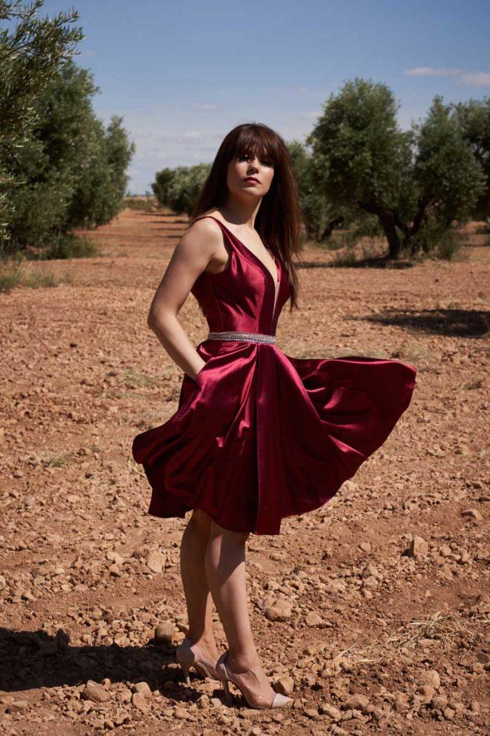 Vestido de Fiesta Entrenovias ICH09215 R