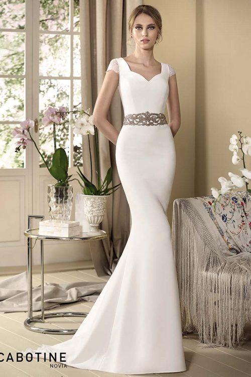 Vestido novia cabotine modelo orquidea