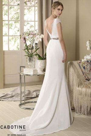 Vestido novia cabotine modelo orquidea b