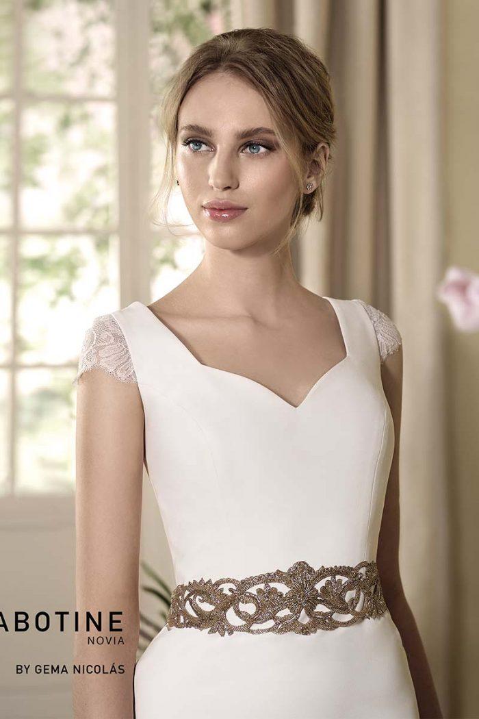 Vestido novia cabotine modelo orquidea c