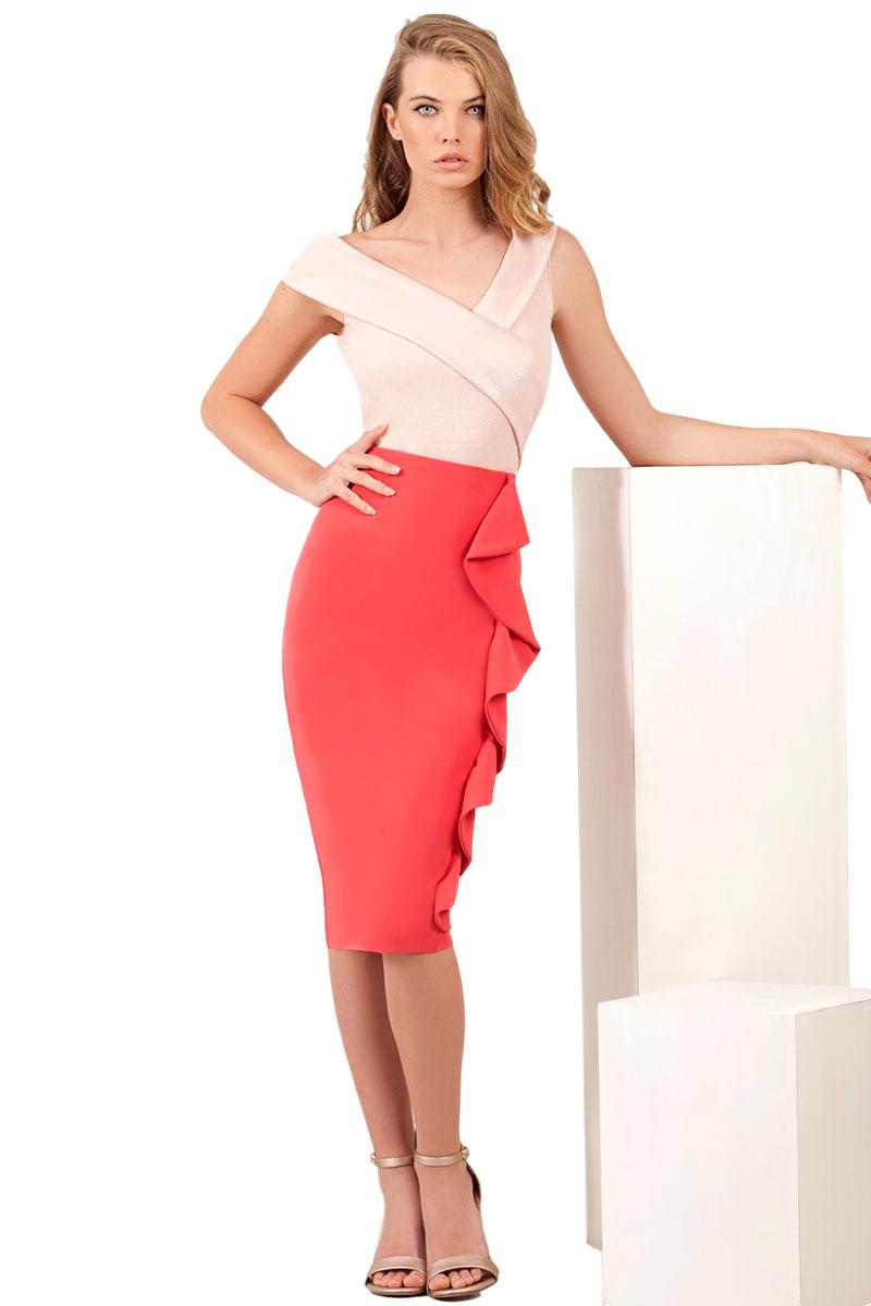 Falda Moncho Heredia modelo 2199.1