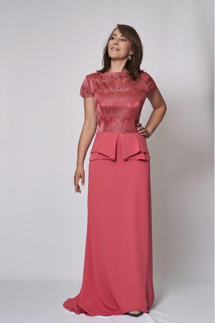 Vestido de fiesta modelo ICH02420 P