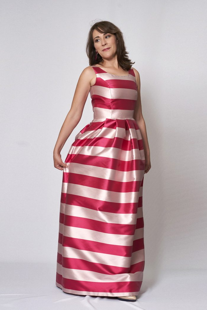 Vestido de fiesta modelo ICH02961 P
