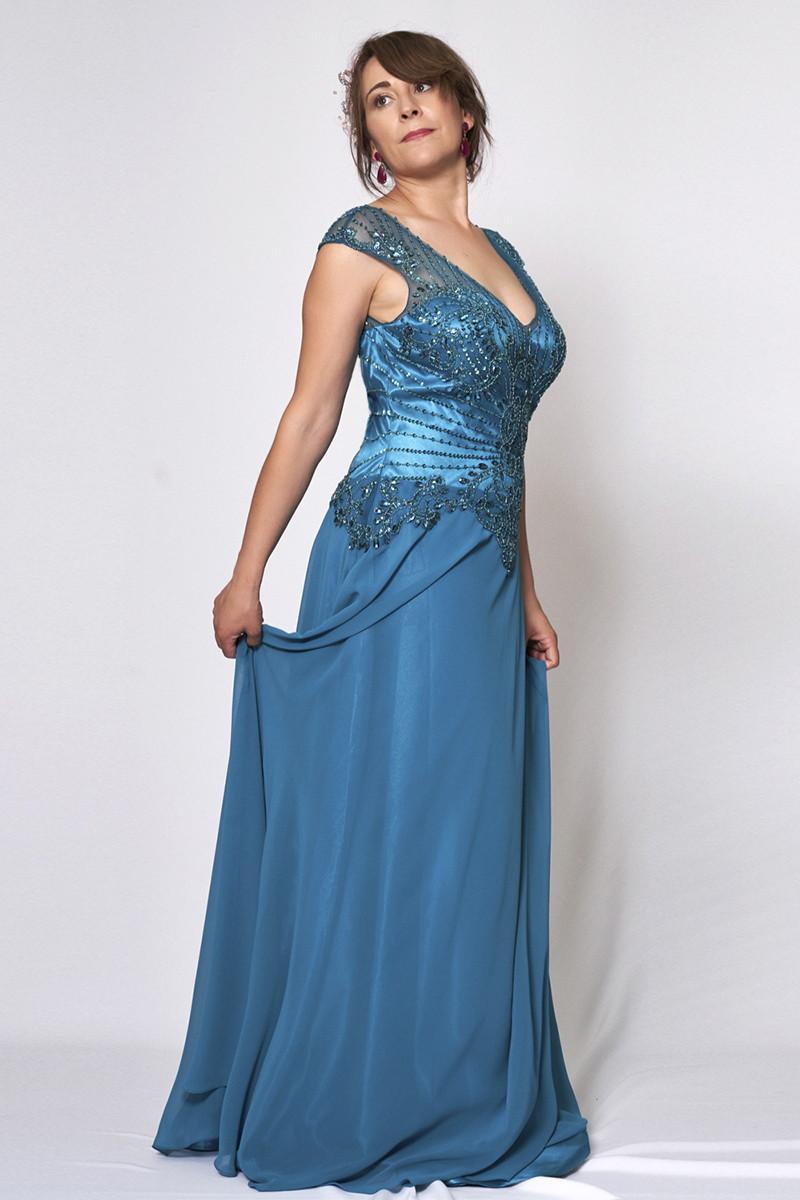 Vestido de fiesta modelo ICH03292 P