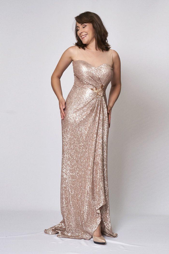Vestido de fiesta modelo ICH03397 P